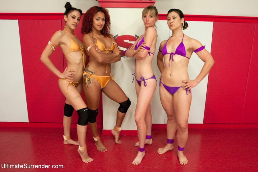 Daisy Ducati and Lyla Storm vs Jayogen and Mona Wales