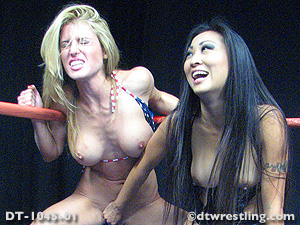 Randy Moore Catfights - Randy Moore vs Nicole Oring