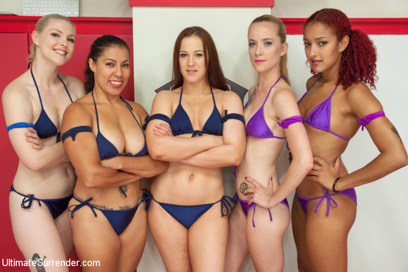 Cheyenne Jewel, Izamar Gutierrez and Ella Nova vs Daisy Ducati and Jeze Belle full match!